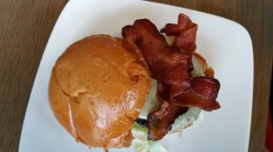 flip bacon burger