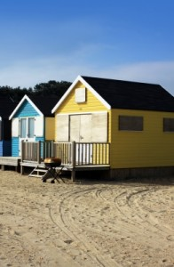 Beach Hut by Simon Howden