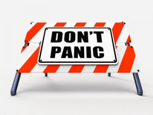 Don't Panic by Stuart Miles