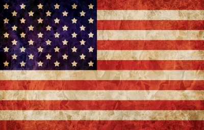 USA flag by nixxphotography