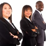 Business people by Ambro